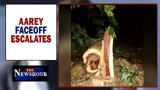 Aarey felling sparks massive outrage, protest fails to deter state | The Newshour Debate