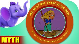 One must not sweep after dark