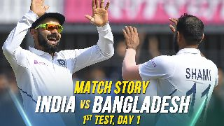 IND vs BAN, 1st Test, Day 1, Match Story: A Day of India's dominance