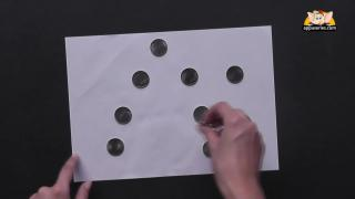 10 Coin Puzzle Trick