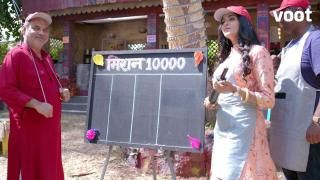 Meher's 'Mission 10,000 rupees!'
