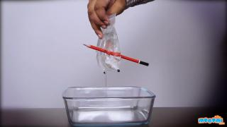 Water in Plastic Bag Trick