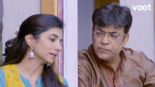 Aastha confides in her father!
