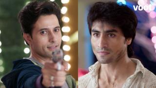Aditya at Rajveer's gunpoint!