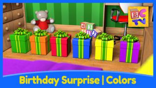 Birthday Surprise - Learning Colors for Kids