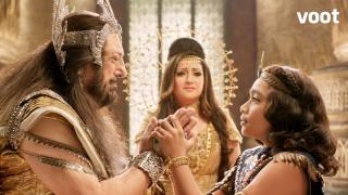 Shani meets his grandfather, Vishwakarma