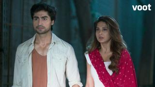 Zoya and Aditya on the run